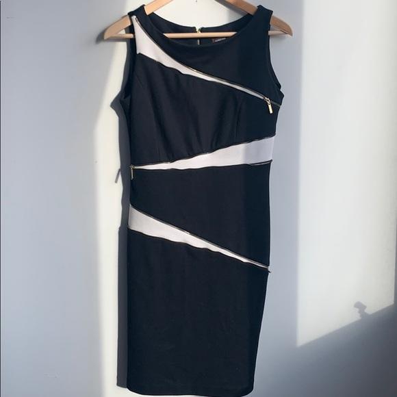 Adrienne Vittadini Zipper Dress